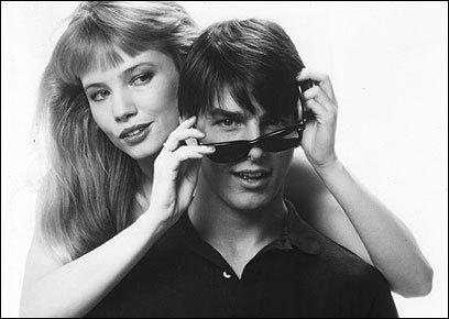Tom Cruise y Rebecca De Mornay en una imagen promocional de