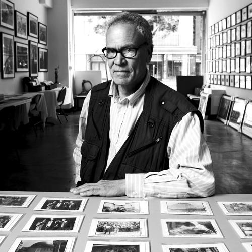 Gary Leonard en su estudio