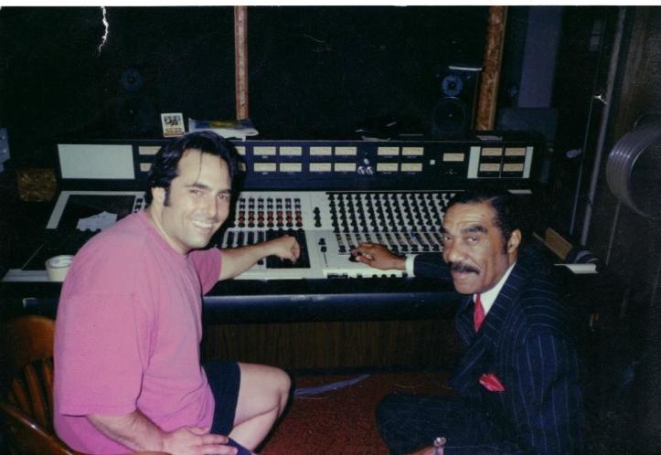 Con Andre Williams en los Ghetto Recorders (Foto: Archivo Jim Diamond)