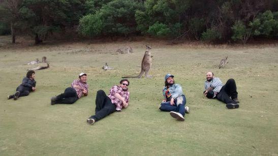 Los Chicos y sus groupies australianas.